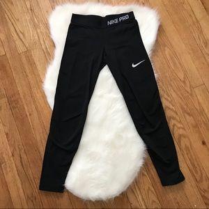 NIKE PRO Full Length Black Leggings